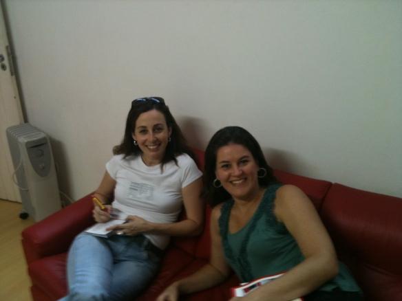 Minha prima Luciana e eu.