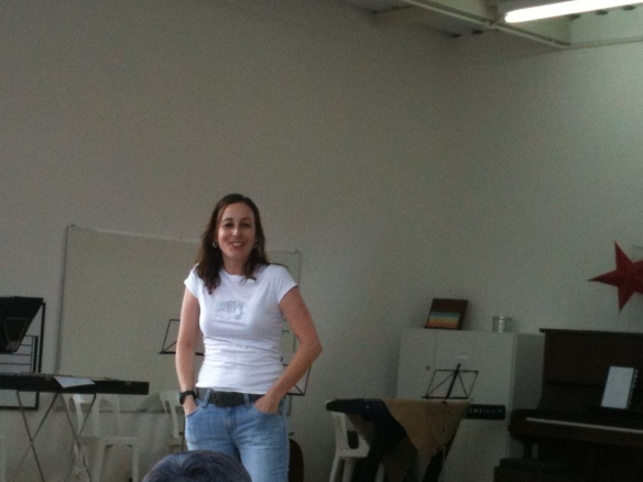 Luciana Feres Nagumo na Escola de Música de Jundiaí
