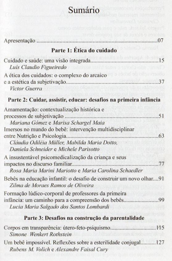 Livro ABEBE SUMÁRIO 1