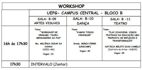 Workshop da Mirza
